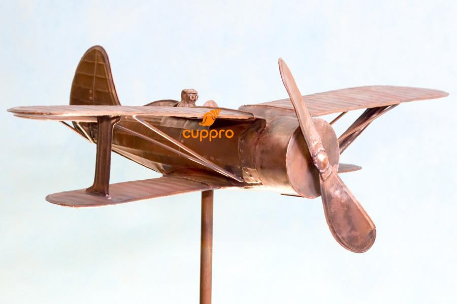 Флюгер самолет из дерева своими руками