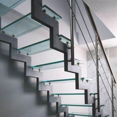 купить лестницу на металлокаркасе тюмень