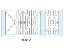 Кованые ворота, артикул В-012