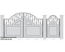 Кованые ворота, артикул В-065