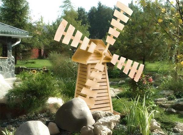 Ветряные мельницы для сада