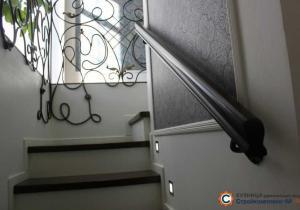 Частный интерьер. Лестница и перила
