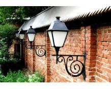 Кованые настенные фонари