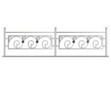 Кованая ограда, артикул Ог-14
