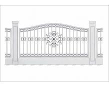 Кованый забор - З 027