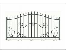 Кованый забор - З 042