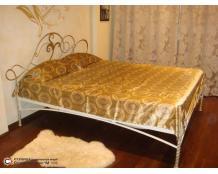 недорогая кованая кровать под заказ