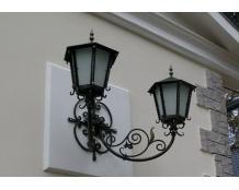 Кованые фонари на стену