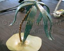 Кованая пальма