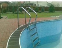 Лестница для бассейна из нержавеющей стали