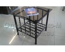 Стол со стеклянной столешницей № 13