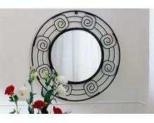 Кованое круглое зеркало
