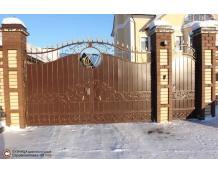 Ворота 10 по индивидуальному проекту