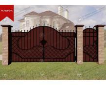 Кованые ворота В-094