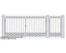 Кованые ворота, артикул В-004