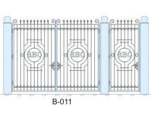 Ворота В-011