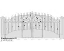 Кованые ворота, артикул В-040