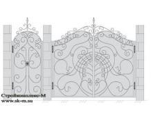 Кованые ворота, артикул В-046