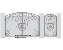 Кованые ворота, артикул В-050