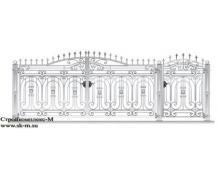 Кованые ворота, артикул В-077