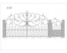 Ворота В-033