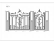 Ворота В-056