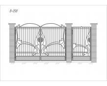 Ворота В-058