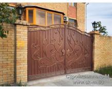 Кованые ворота, артикул В-027