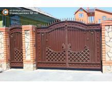 Ворота 15 по индивидуальному проекту