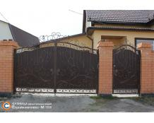 Ворота 13 по индивидуальному проекту