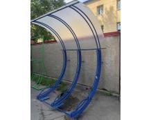 Велопарковка с навесом  ВП-3, на 3 парковочных места