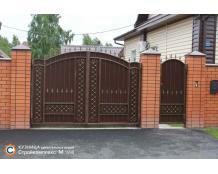 Ворота 12 по индивидуальному проекту