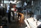 процесс изготовления кованых перил