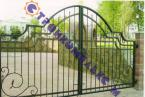 Кованые ворота, артикул В-013