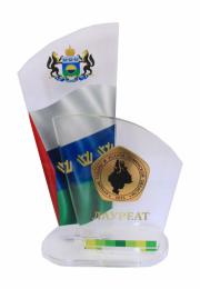 """Награда """"Лучшие товары и услуги Тюменской области 2015 г."""""""