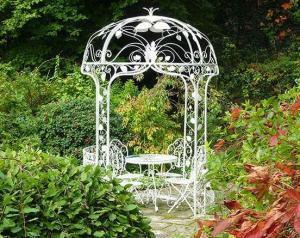 Кованая арка с куполом