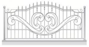 Кованый забор, артикул З-052