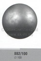 Шар стальной штампованный полый, артикул 882/100