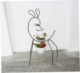 """Подставка под цветы """"Олененок"""""""
