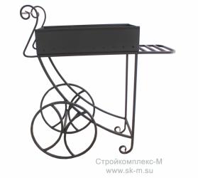 мангал на колесах купить недорого в Тюмени