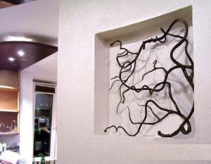 Кованое украшение интерьера