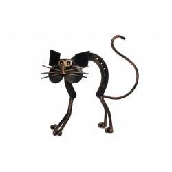 кованый кот-подкова