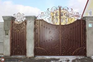 Ворота 9 по индивидуальному проекту