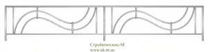 Кованая ограда, артикул Ог-27
