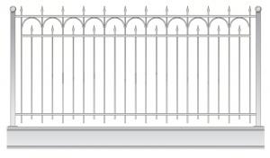 Кованый забор, артикул З-048