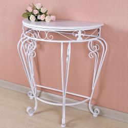 Прикроватный кованый столик