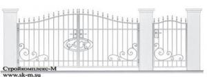 Кованые ворота, артикул В-079