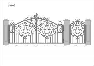 Ворота В-054