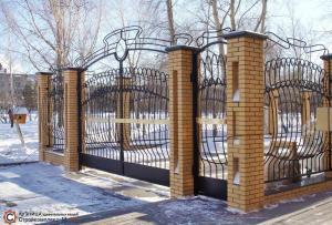 Ворота 6 по индивидуальному проекту