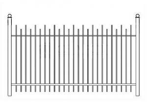 Кованый забор, артикул З-045
